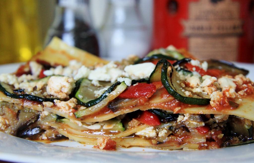 recept lasagne vegetarisch