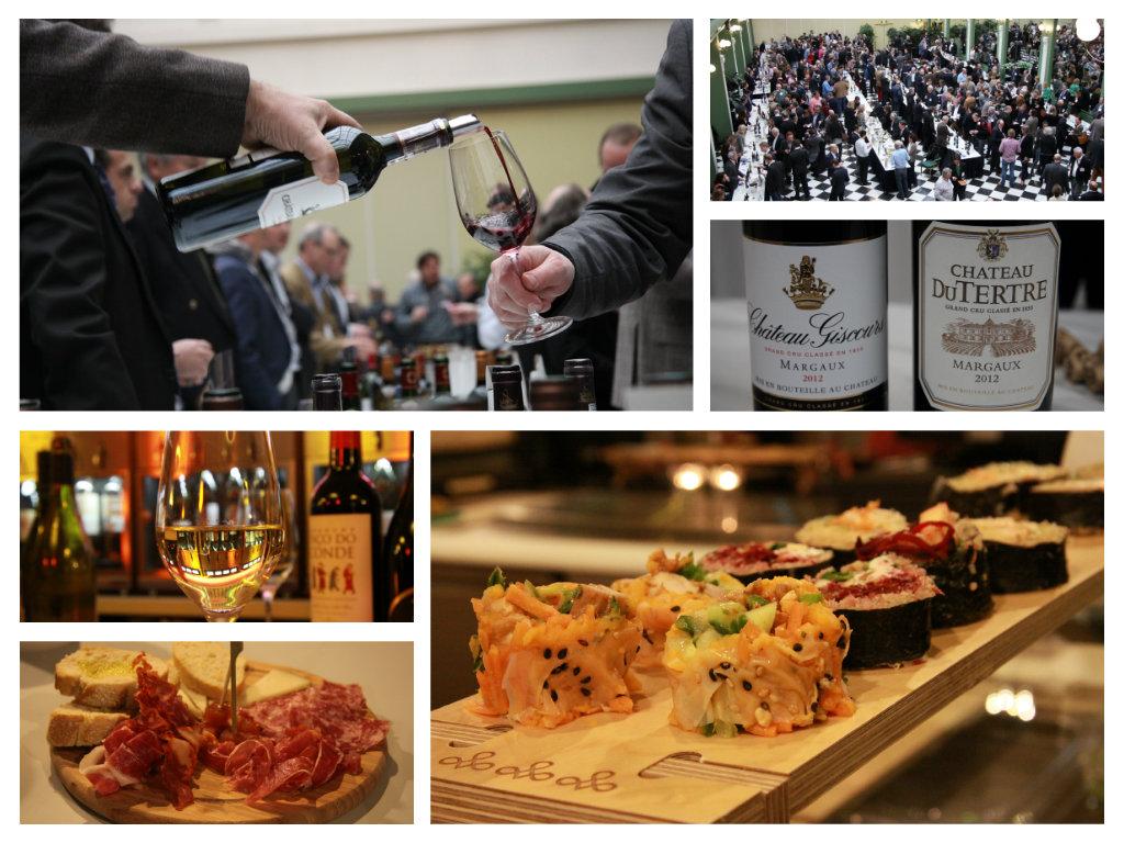 collage wijnproeverij foodhallen