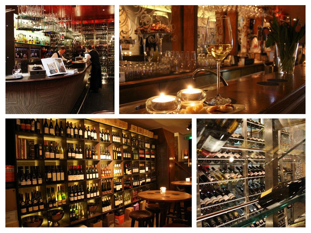 Collage wijnbars Maastricht