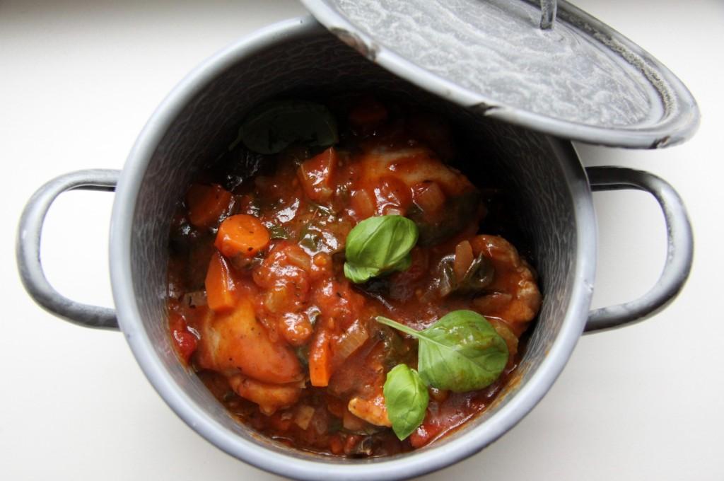 5-5-14.Italiaans stoofpotje met kip en krieltjes