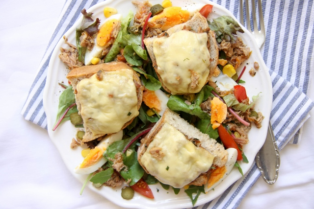 tuna melt salade