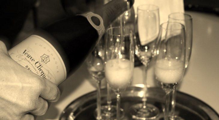 champagne inschenken