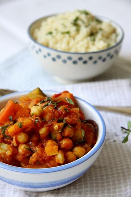 pompoenstoofpot met couscous