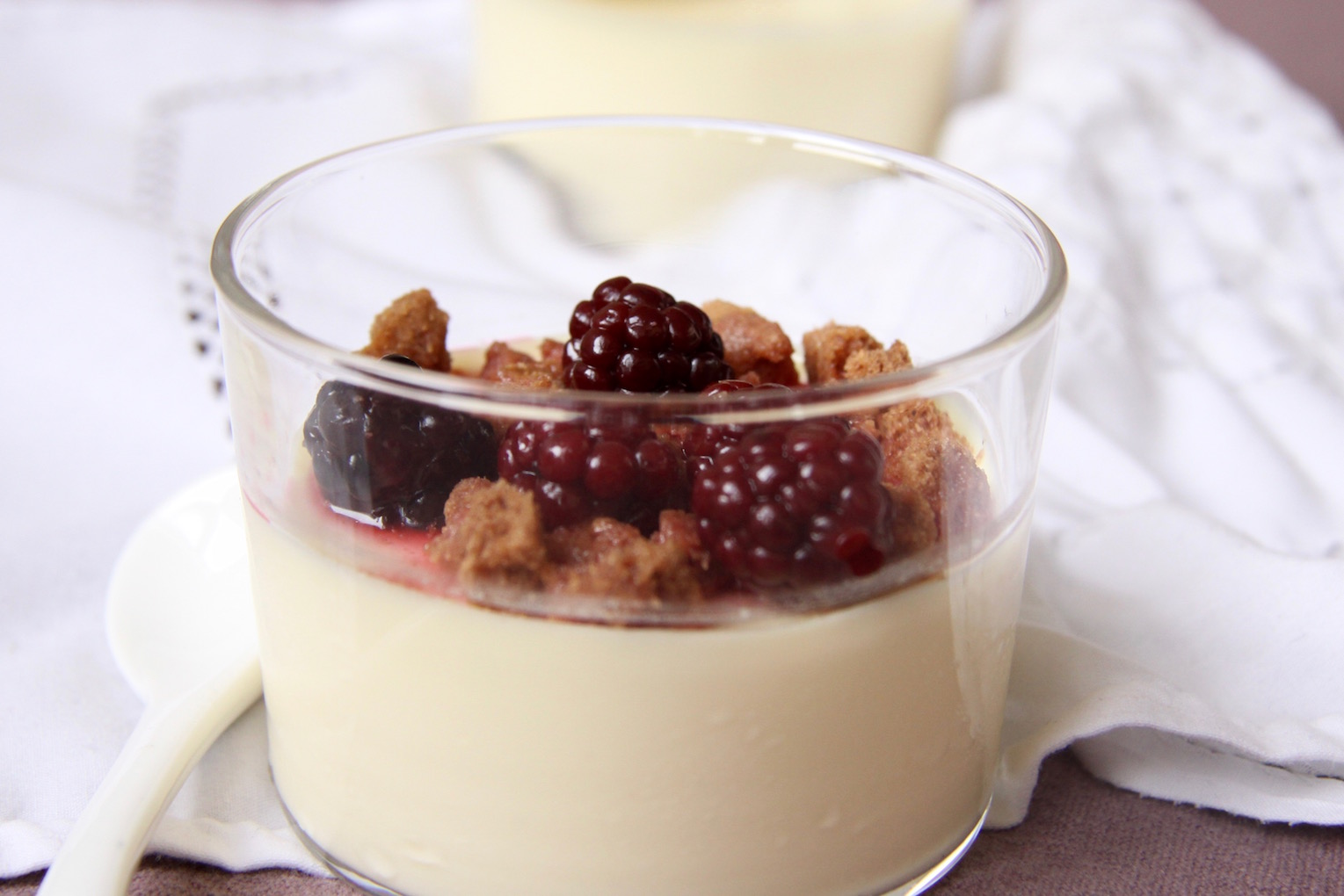Witte chocolade panna cotta jessie 39 s cuisine - Panna cotta herve cuisine ...