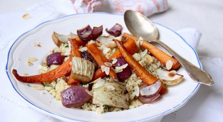 couscous met geroosterde groenten