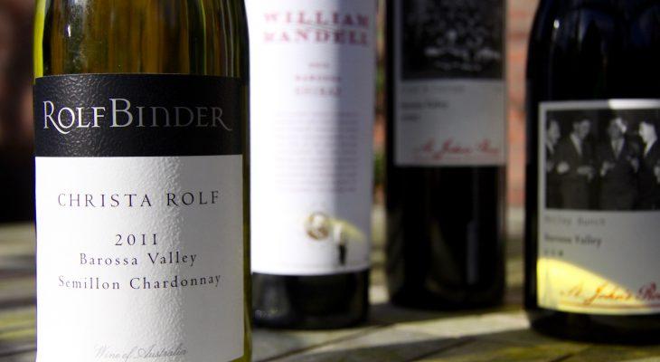 Wijnen uit Barossa Valley