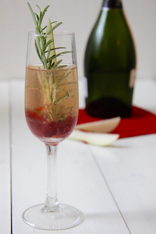 Sparkling Sherry cocktail