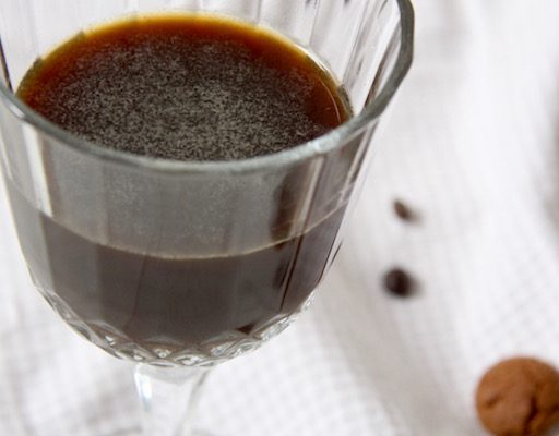 Ijskoffie kruidnoten cocktail